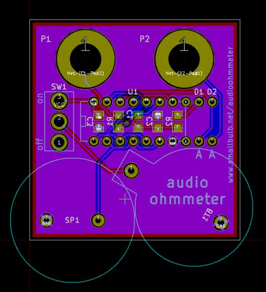 audioohmmeter_pcb